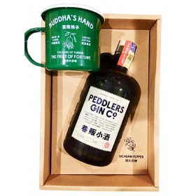 PEDDLERS GIN CO SHANGHAI CRAFT GIN 70CL (WITH MUG, TOT BAG AND GIFT BOX)